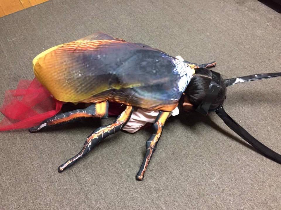 根據網友提供今年的造型盤點,以「蟑螂女孩」榮獲今年最勁爆造型。擷自爆料公社