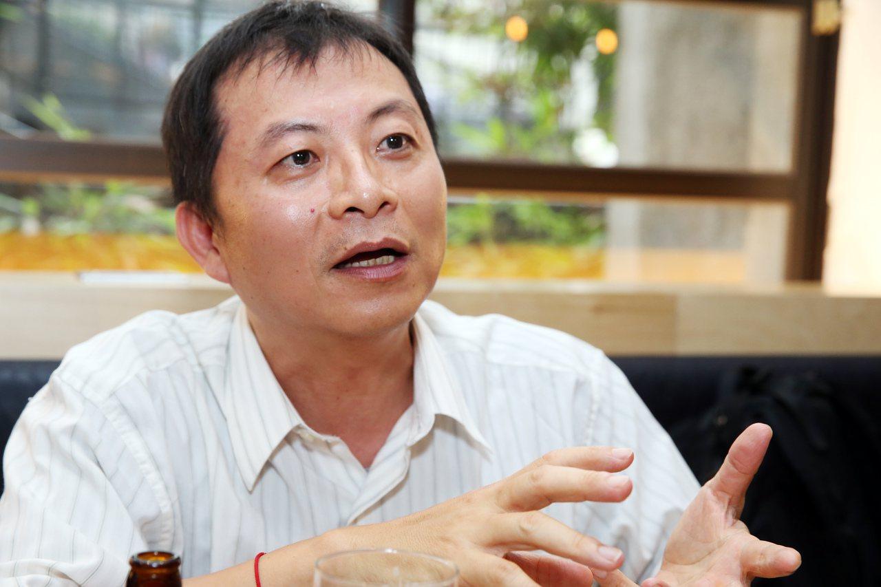 兒童與少年程式設計教學計劃發起人蘇文鈺。本報資料照/記者徐兆玄攝影