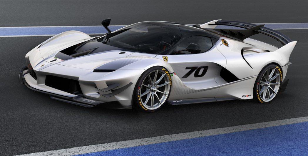 Ferrari FXX K Evo。圖/Ferrari提供