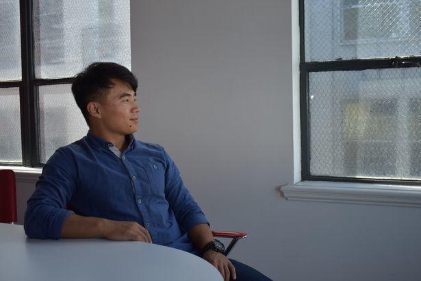 脫北者劉宇回憶在北韓生活的慘痛過往。圖片來源/鏡報