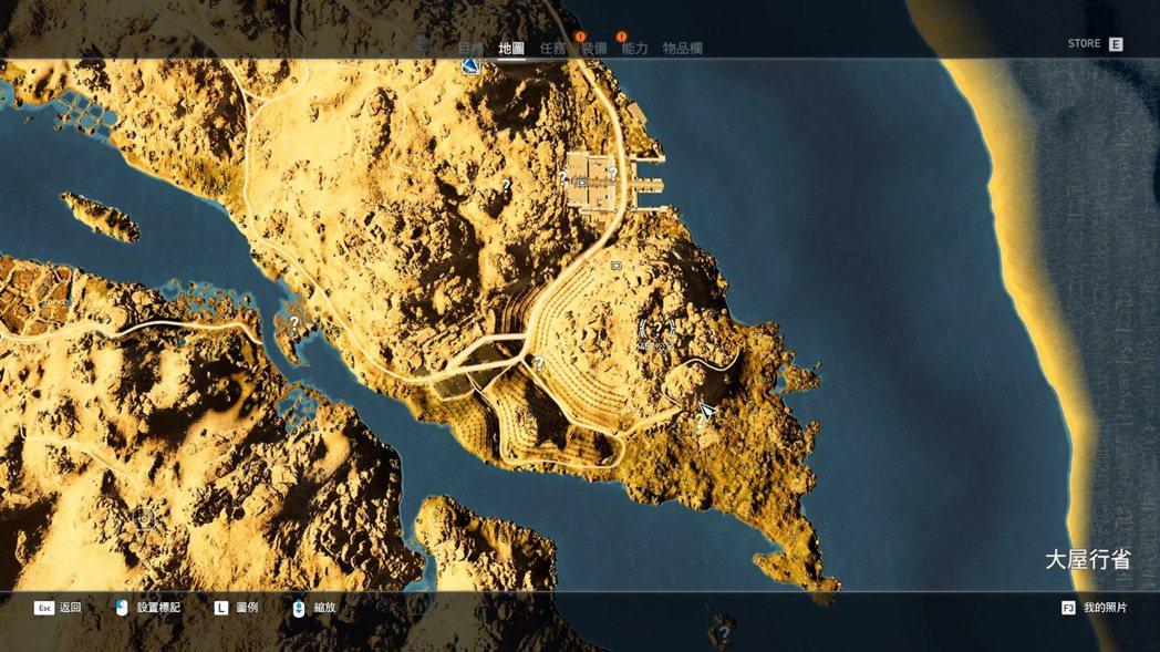 地圖上有很多問號的區域可以探索,有的會送技能點。