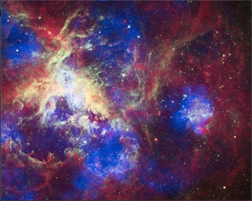 NASA因應萬聖節,推出了「宇宙專輯」。圖擷自NASA twitter