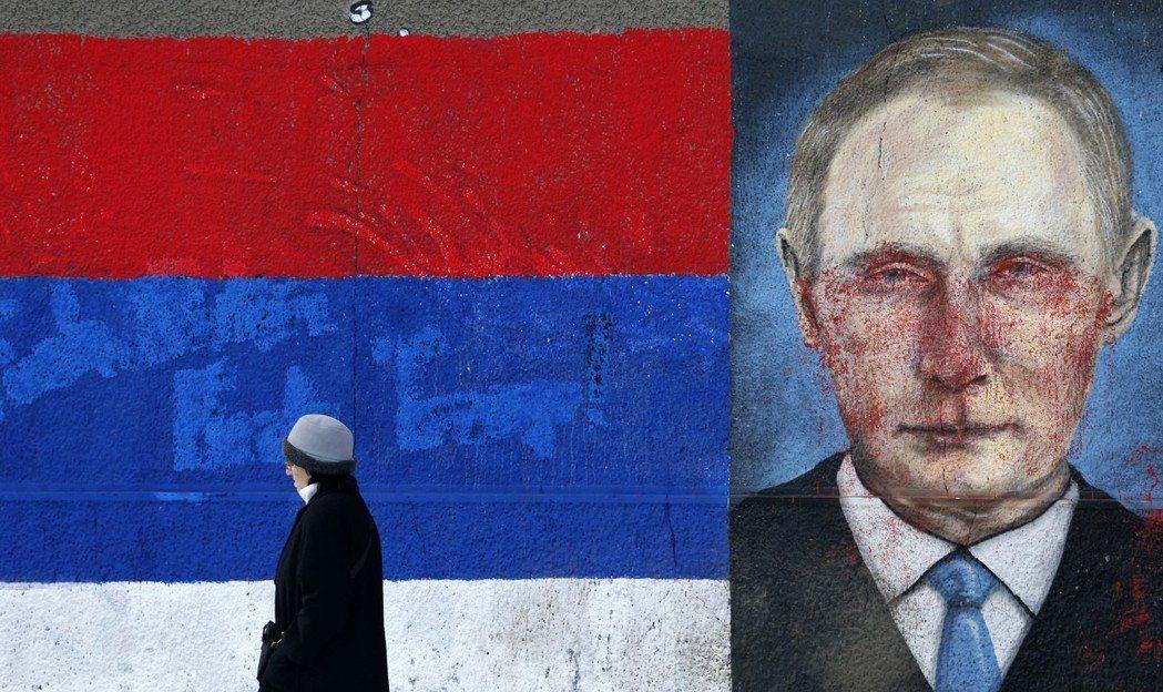 在科索沃問題之外,俄羅斯的角色也是塞爾維亞與歐盟的鴻溝。 圖/路透社