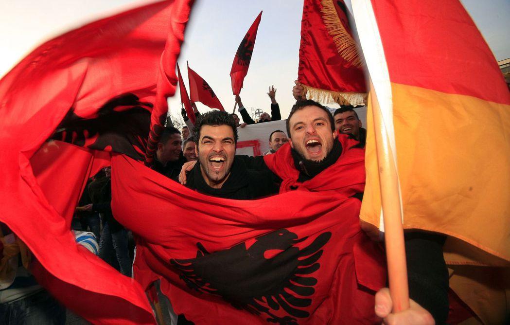 科索沃獨立問題,是塞爾維亞加入歐盟最大的絆腳石,這麼久下來有解嗎?圖為艾爾巴尼亞...