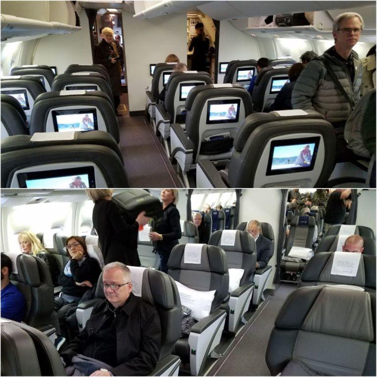 冰島航空Boeing 767商務艙。圖文來自於:TripPlus