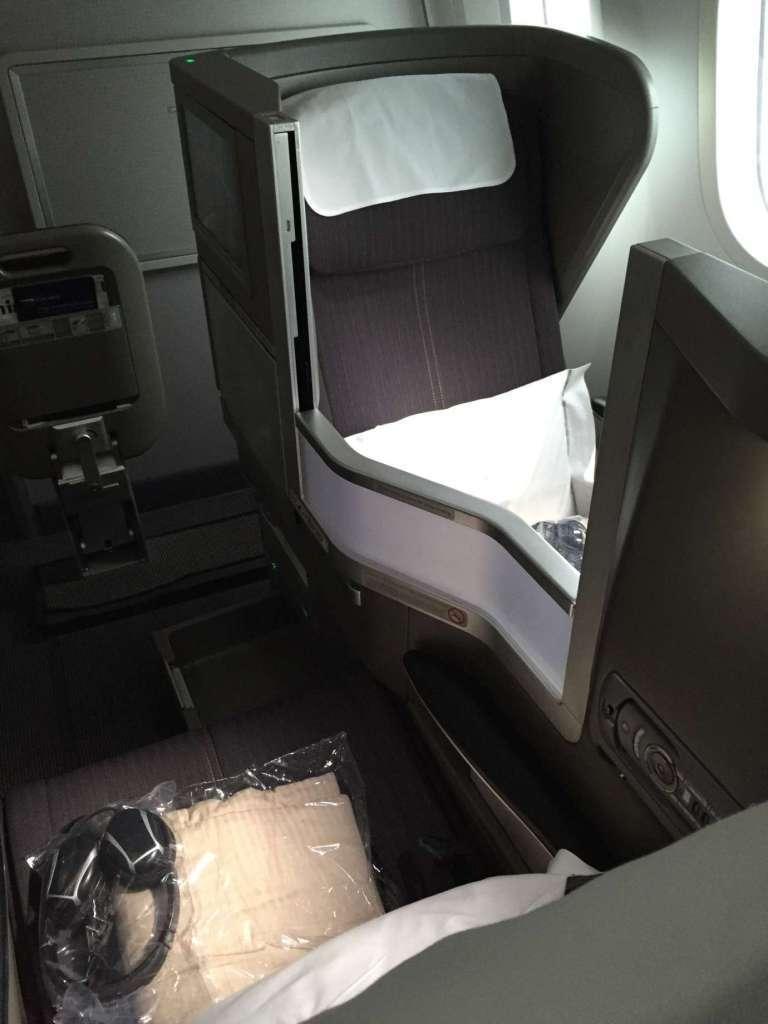 較為擁擠的英國航空商務艙。圖文來自於:TripPlus