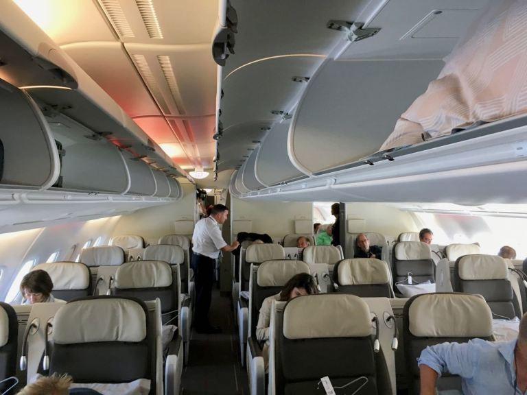 法國航空A380機型商務艙 (Photo Credit: The Point G...