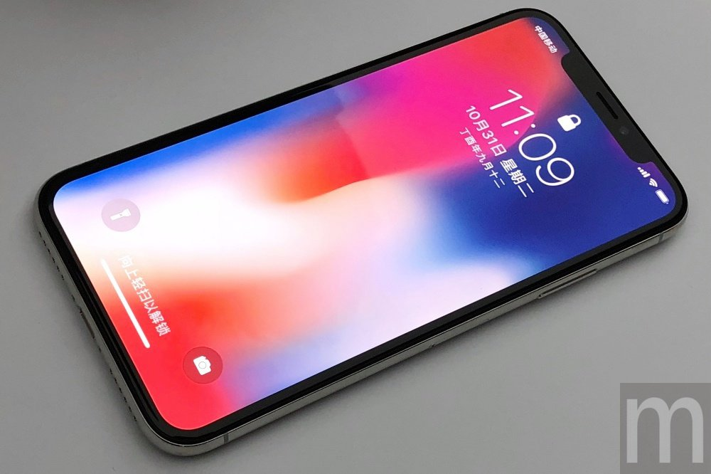iPhone X是蘋果第一款取消Home鍵設計,同時採用OLED、全尺寸螢幕規格...