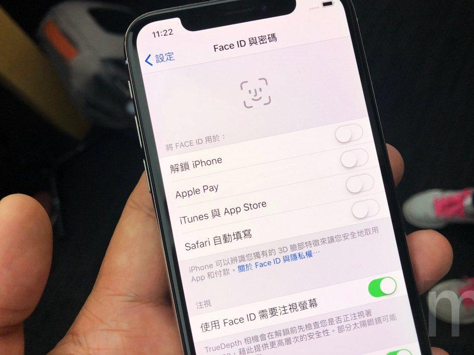 Face ID同樣對應不少原本Touch ID功能