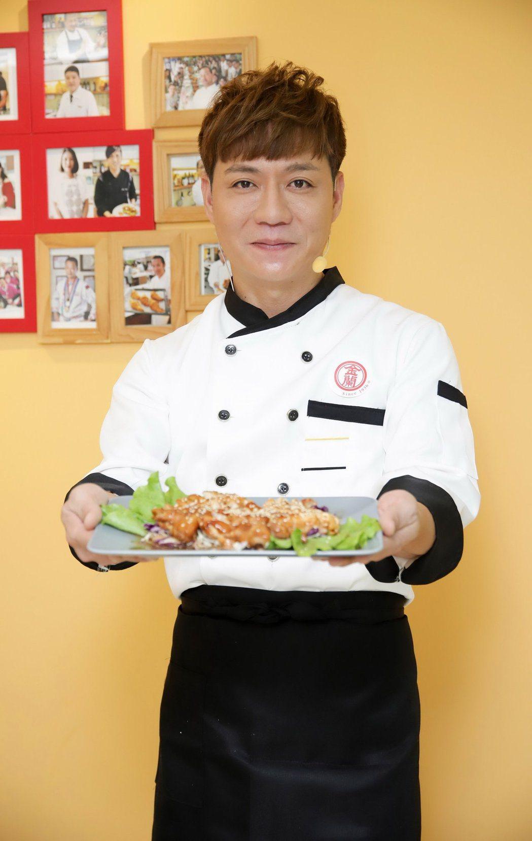 陳隨意喜歡下廚。圖/金蘭醬油提供