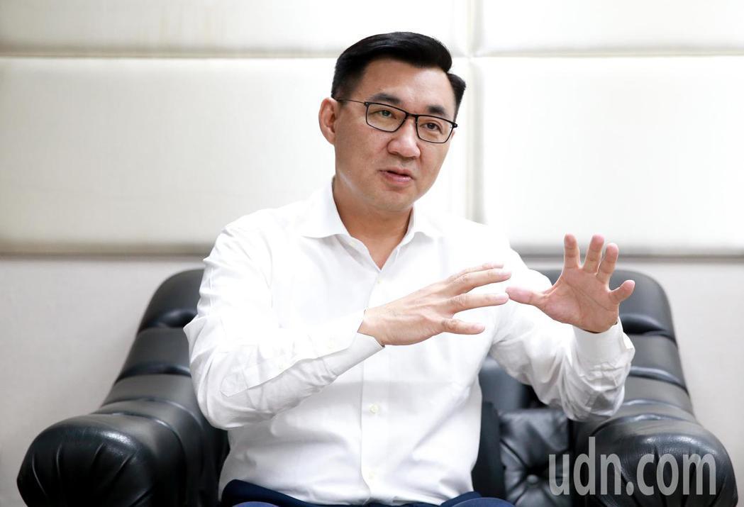 國民黨籍立委江啟臣準備投入台中市市長選舉。記者程宜華/攝影
