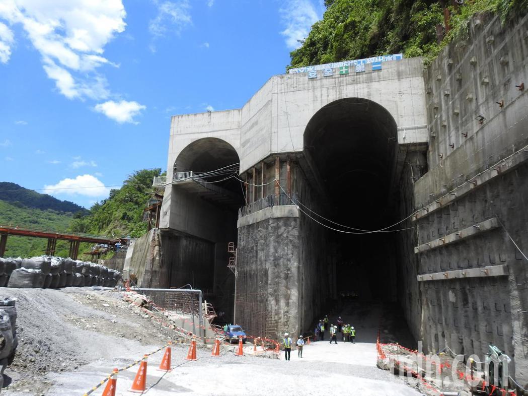 曾文水庫防淤隧道工程工法創新,4年來未發生工安意外,讓美方專家印象深刻。記者吳淑...