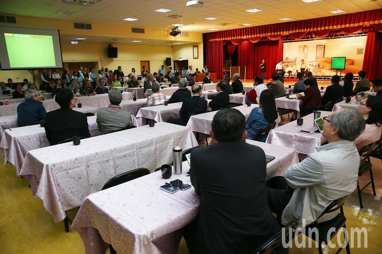 市府行動市政會議,上午在文山區公所舉行。記者杜建重/攝影