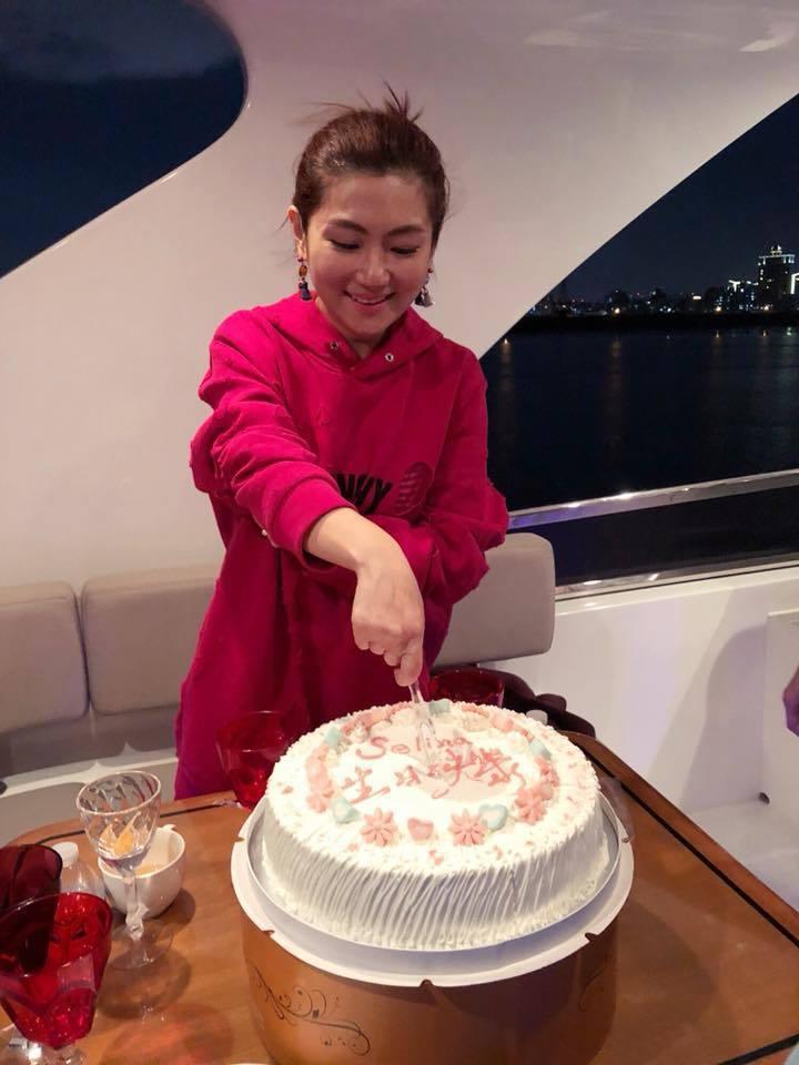 Selina今天過36歲生日。圖/摘自Selina臉書