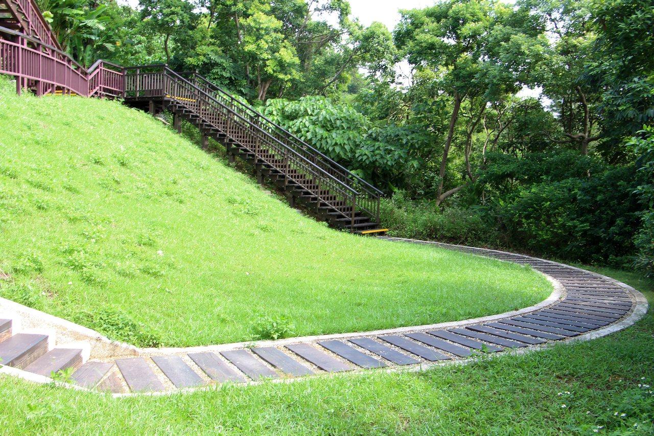 園區內的步道,可讓民眾享受山林健行樂趣。圖/摘自台北市大地工程處官網