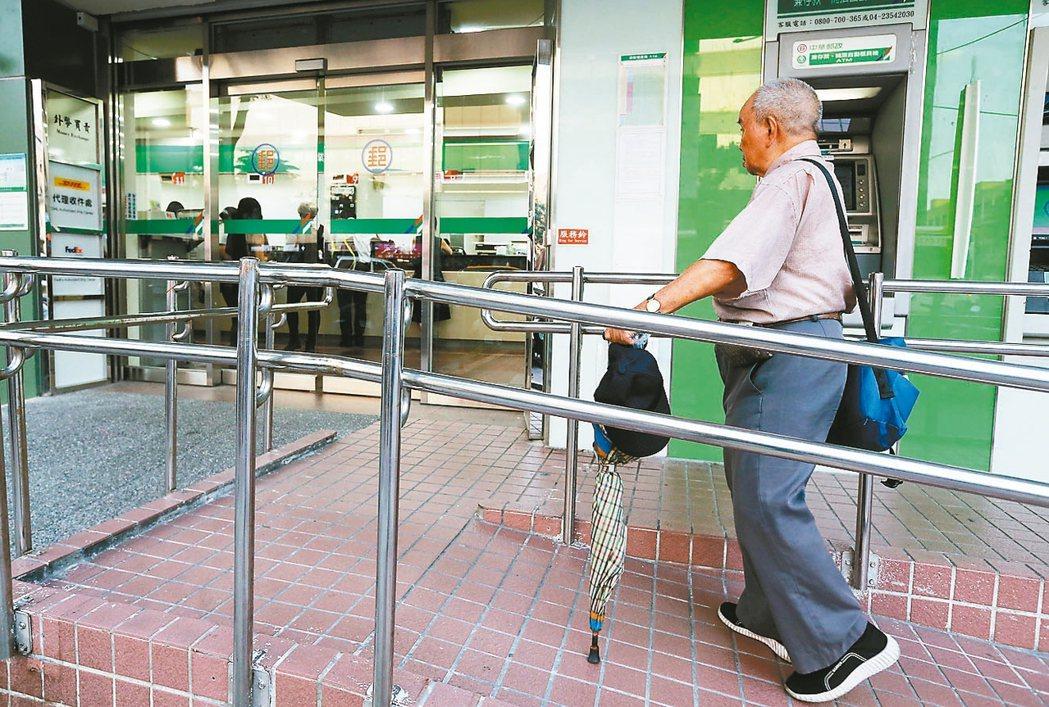 中華郵政昨表示,計畫明年推動「居家醫療」。 本報資料照片
