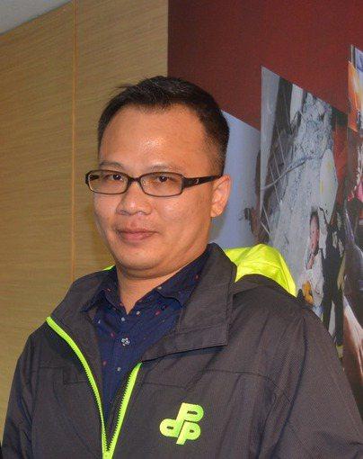 林琮盛曾任報社記者,長期主跑兩岸。 本報資料照片