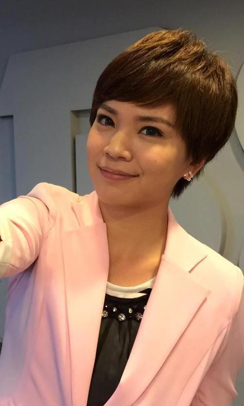 鍾沛君曾是電視台記者、主播。 圖/取自臉書