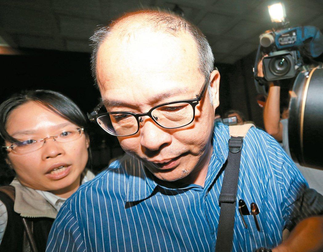 營建署前主秘洪嘉宏(右)。本報資料照片