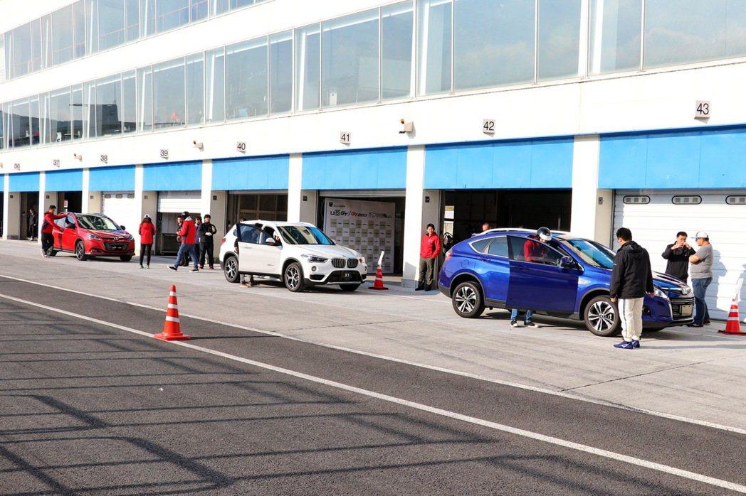 納智捷對全新U6相當具有信心,就連歐系對手BMW X1也成為對照組成員。 記者陳...