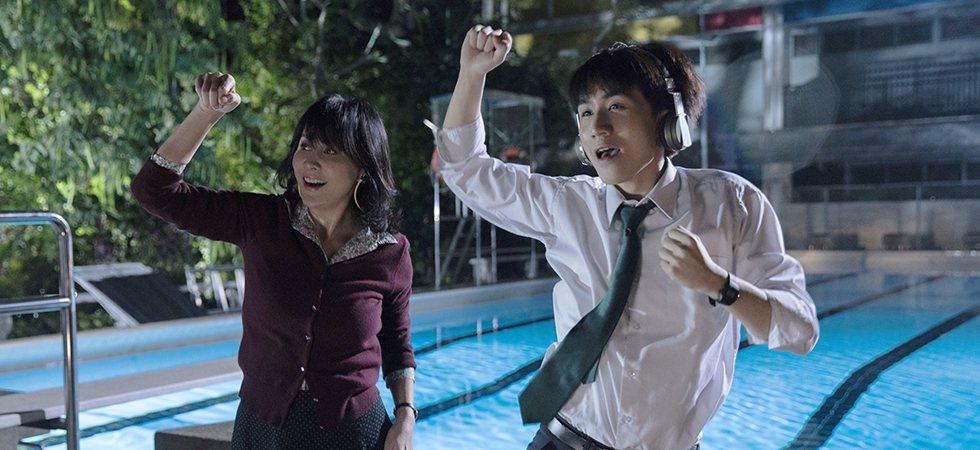 劉嘉玲和吳肇軒在「以青春的名義」有一段超越年齡限制的師生戀。圖/香港亞洲電影節官