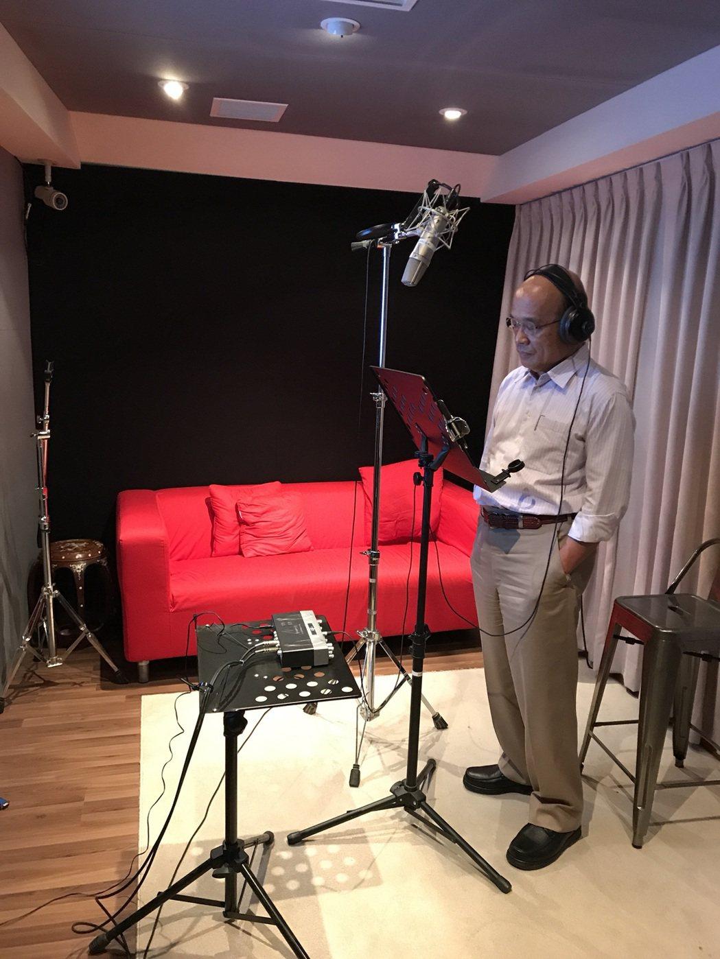 蘇貞昌為新片「衝組」預告配音。圖/鏡象電影提供