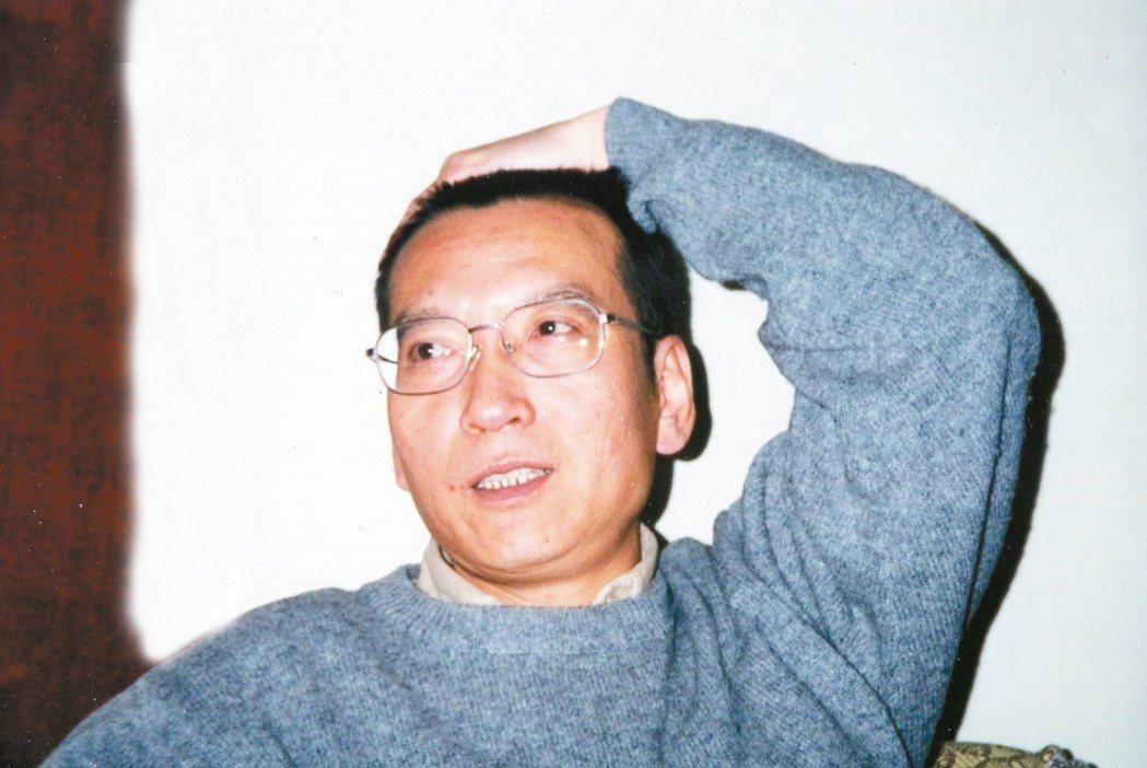 中國作家劉曉波。 圖╲貝嶺提供