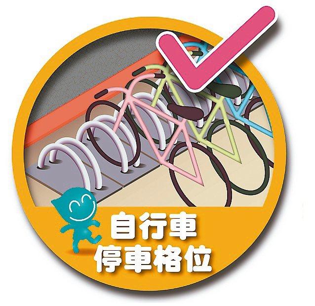 注意!北市交通局呼籲「自行車」請停放合法車位