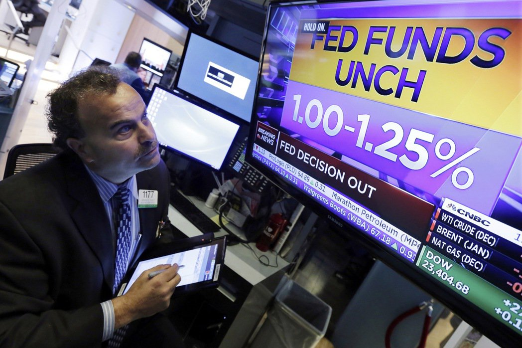 美國聯準會(Fed)在2日凌晨2時決議維持基準利率於1%至1.25%不變。 美聯...