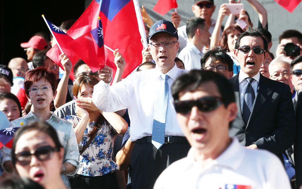 前總統馬英九在2005年時曾表示,國民黨終極的目標是統一,只是狀況還沒有成熟,而...