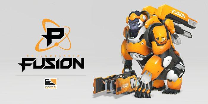 《鬥陣特攻》職業電競聯賽Philadelphia Fusion。