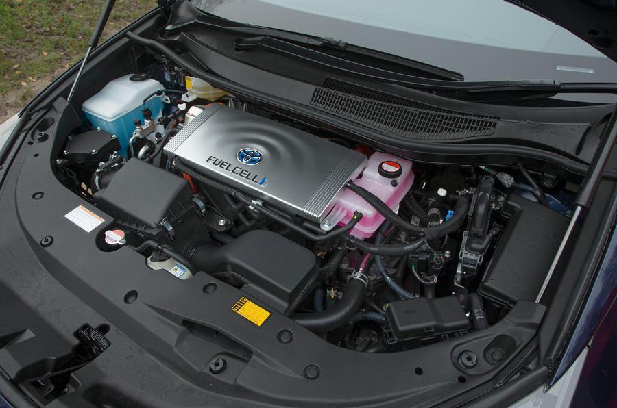 Toyota期望氫燃料車的市佔率,能因售價減低而有所成長。 摘自Autocar