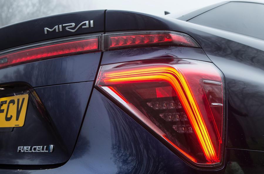 圖為Toyota Mirai。 摘自Autocar