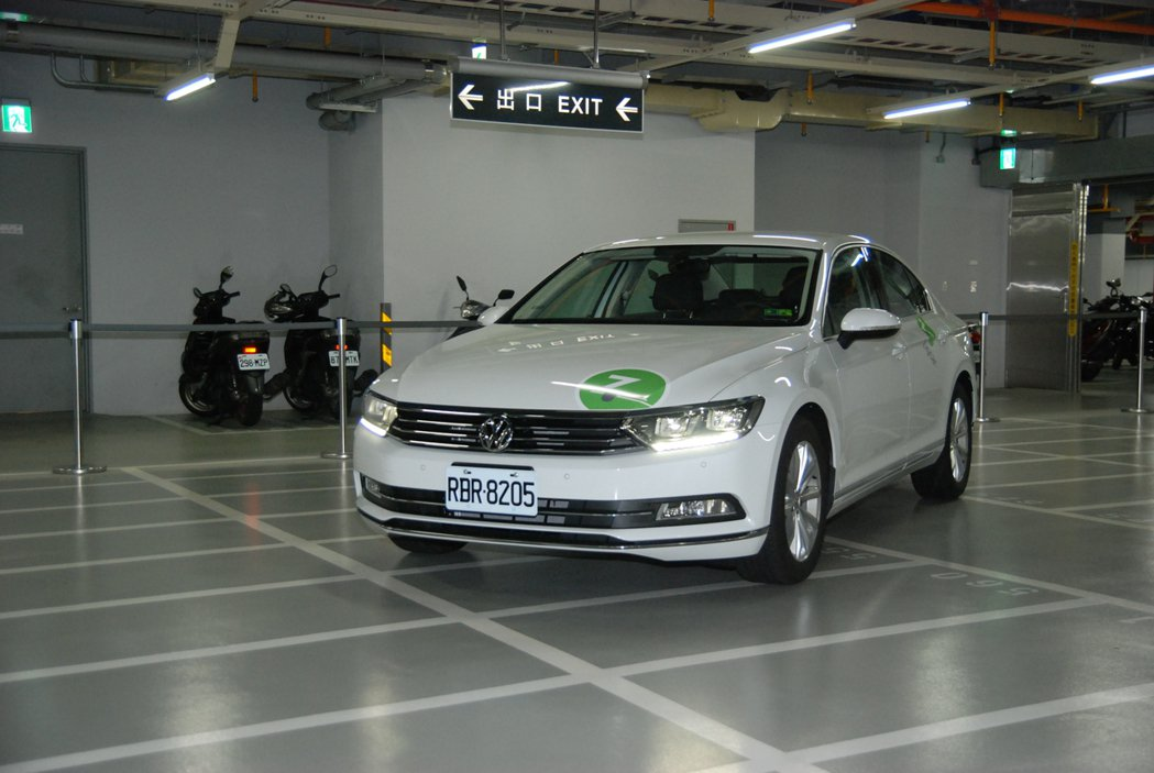 趁著此次合作發表, Zipcar也宣布即日起新增VW Passar 280 TSI 車型。 記者林鼎智/攝影
