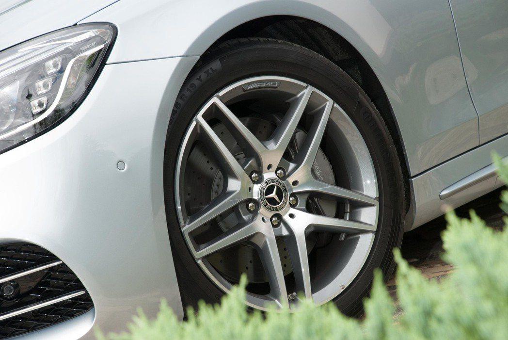 Mercedes-Benz 2017年的銷售成長率為9.9%。記者林昱丞/攝影