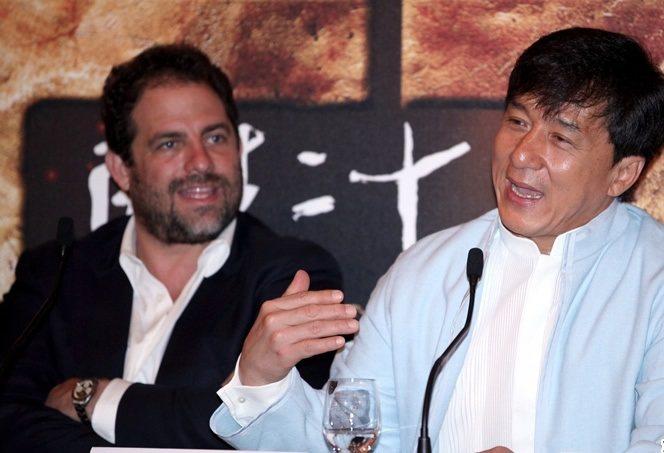成龍和布萊特雷納數度合作,有不錯情誼。圖/摘自chinesefilms