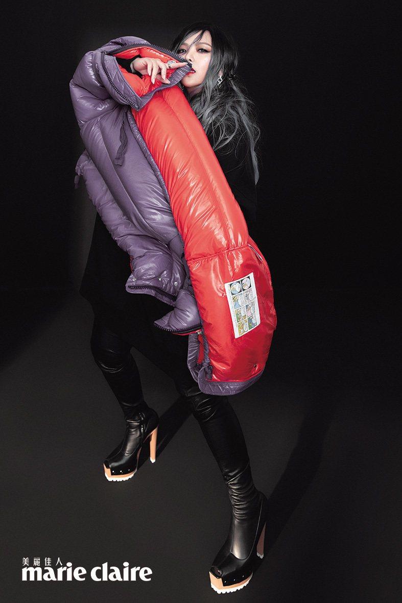 張惠妹接受時尚雜誌專訪。圖/Marie Claire美麗佳人