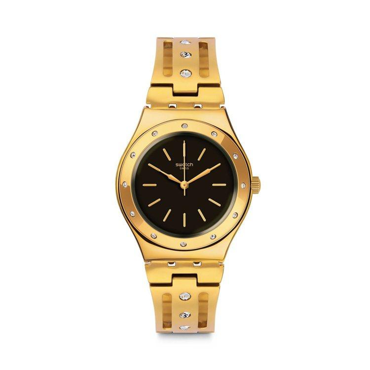SWATCH狂歡系列Centoelode腕表,約5,500元。圖/SWATCH提...