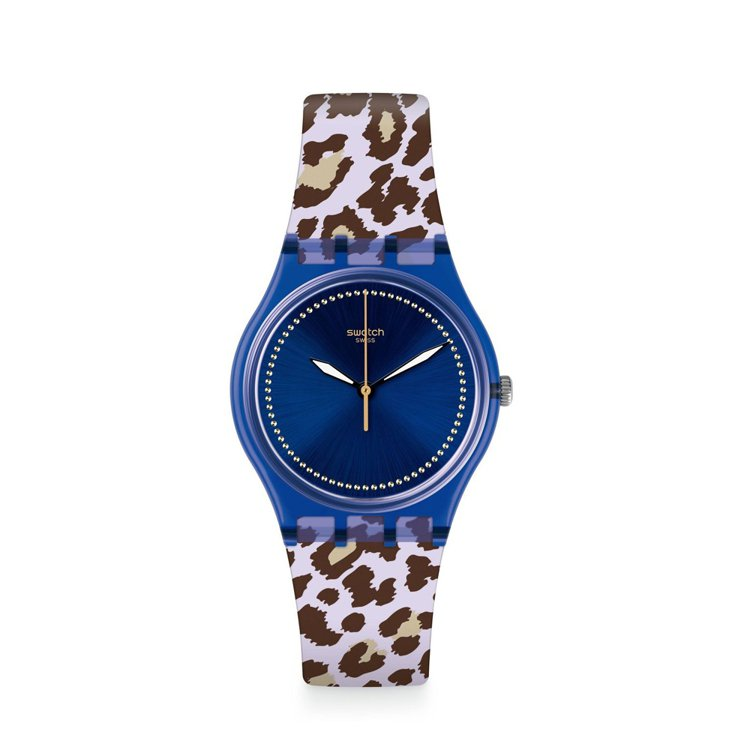 SWATCH狂歡系列Wildchic腕表,約1,900元。圖/SWATCH提供