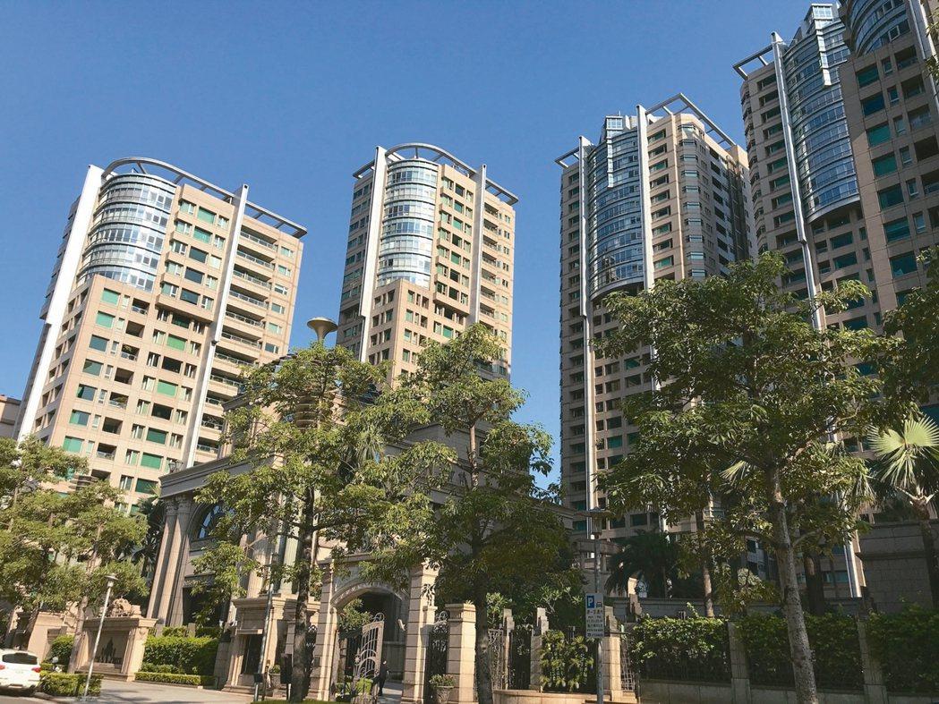 今年豪宅最高成交單價在帝寶。 記者游智文/攝影