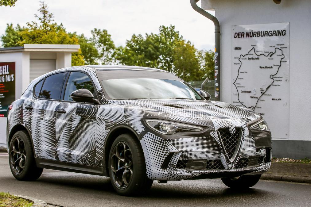 Alfa Romeo Stelvio Quadrifoglio締造紐柏林賽道最速...