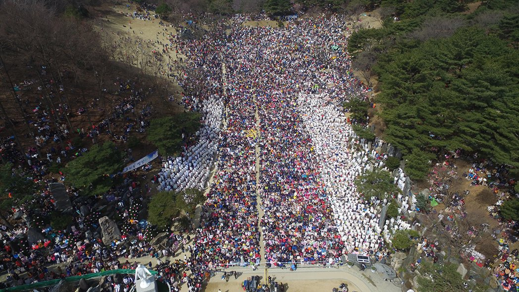 CGM基督教福音宣教會於月明洞的國際慶典。 圖/CGM 提供