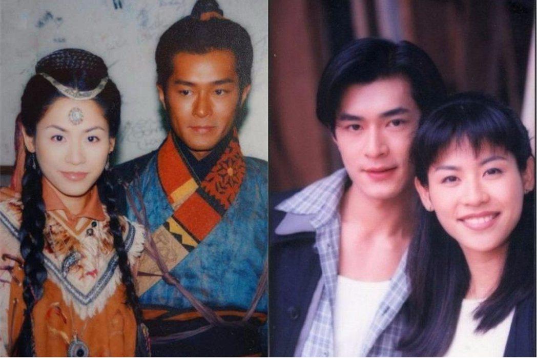 古天樂與宣萱是合作過多部經典港劇的老搭檔。圖/擷自微博
