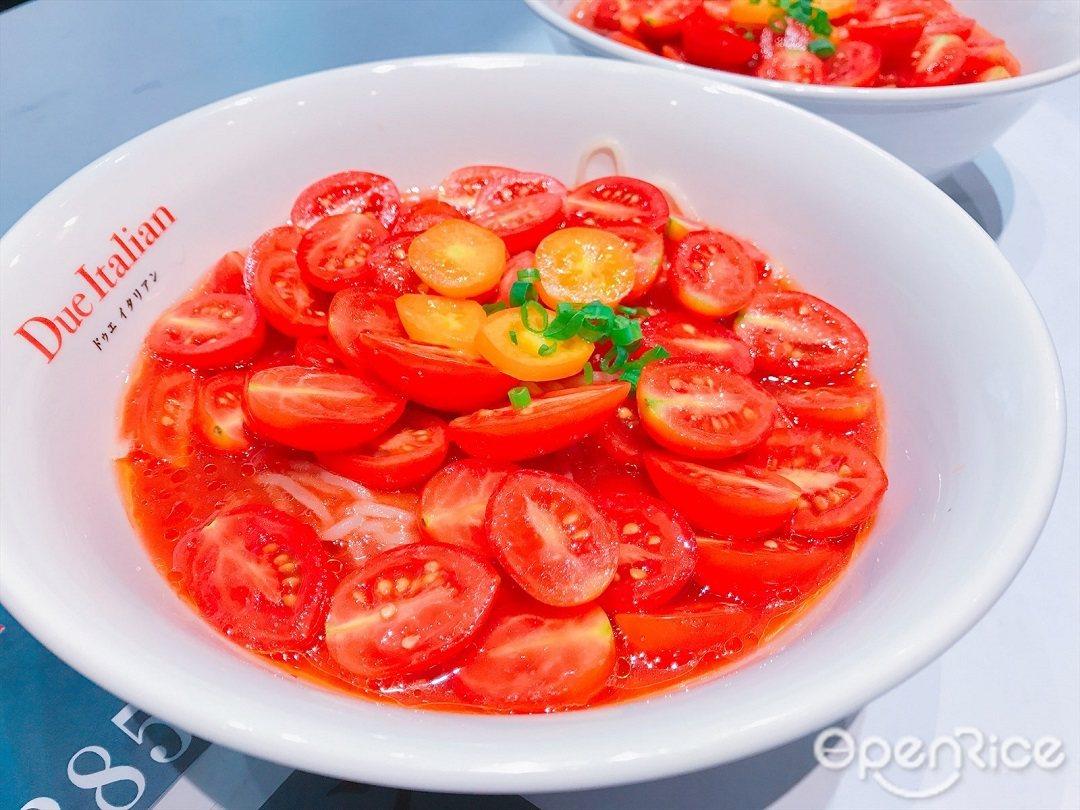 ▲日本媒體爭相報導的超創新「番茄冷拉麵」