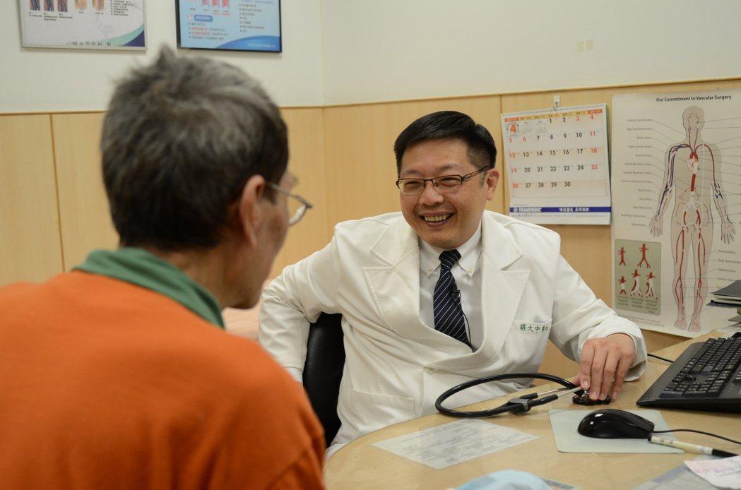 台北慈濟醫院心臟血管外科主任諶大中。圖/台北慈濟醫院提供