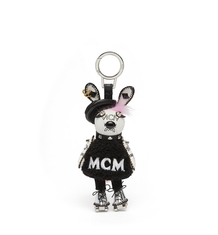 Rabbit兔子溜冰造型吊飾,售價12,500元。圖/MCM提供