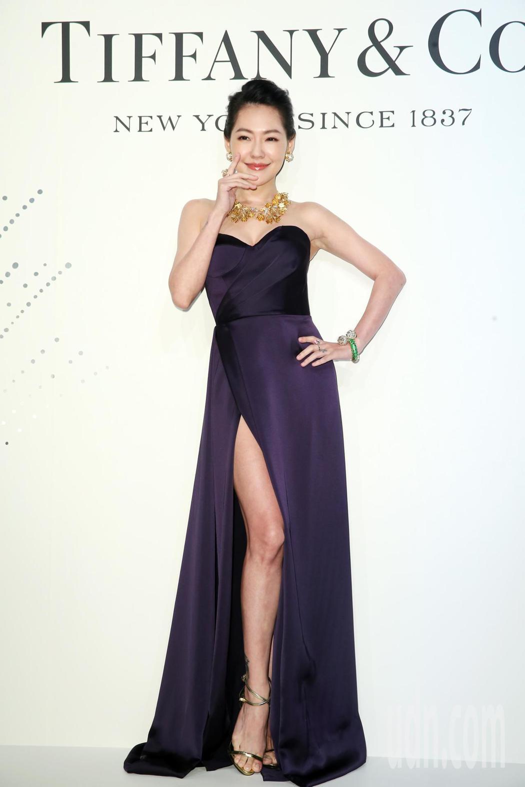 小S出席Tiffany自然奇境高級珠寶展擔任活動嘉賓。記者徐兆玄/攝影