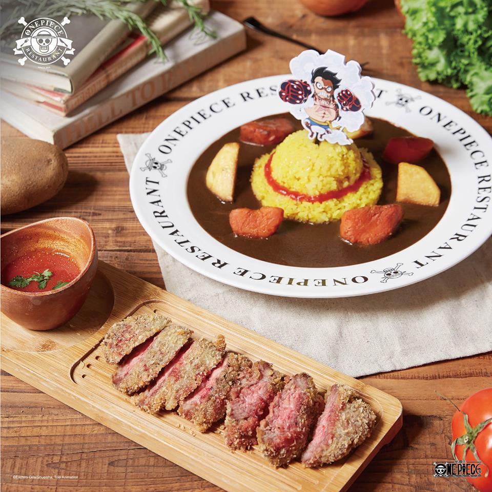 阿信吃的餐點。圖/摘自臉書