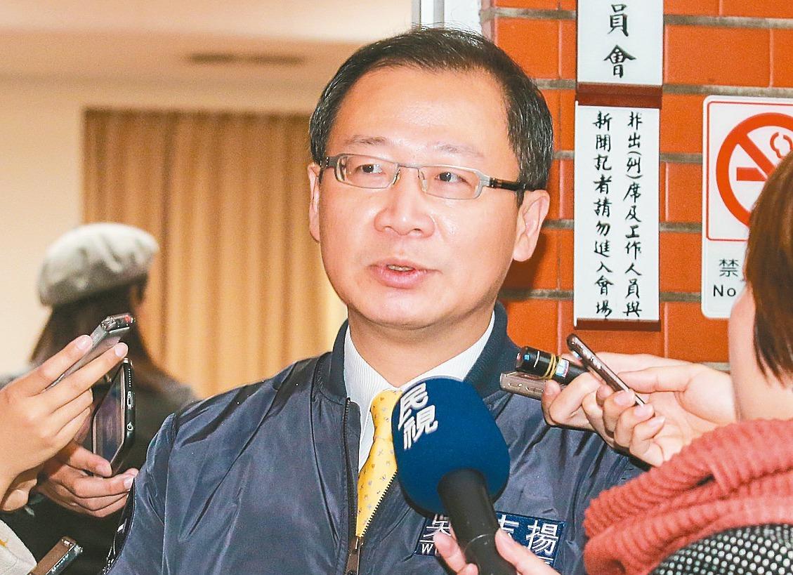 中華職棒會長吳志揚。圖/聯合報系資料照片