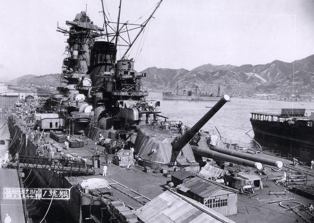 1941年9月20日「大和號」即將完工。 圖/取自維基